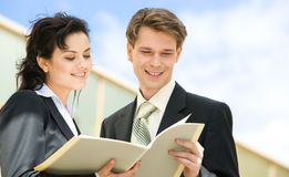 Businesspeople Outdoor Stock Photos