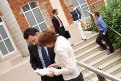 Businesspeople Outdoors Stock Photography
