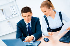 Businesspeople portrait. Office and business stock images