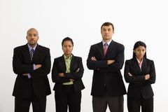 Businesspeople portrait. Stock Photo