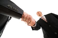 Businesspeople shaking hand Stock Photography