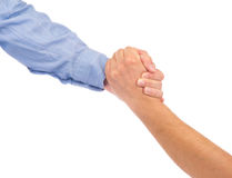Businesspeople shaking hands Royalty Free Stock Image