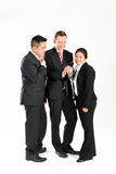 Businesspeople with smart phone Royalty Free Stock Photography