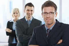 Businesspeople smiling at camera Stock Photography
