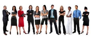 businesspeople som plattforer unga Arkivfoton