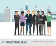 businesspeople standing together ελεύθερη απεικόνιση δικαιώματος