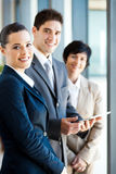 Businesspeople tablet computer Royalty Free Stock Photo