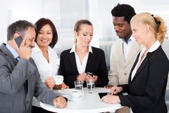 Businesspeople Taking A Break Stock Photography