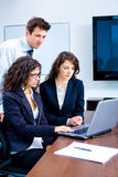 Businesspeople teamwork Royalty Free Stock Photography