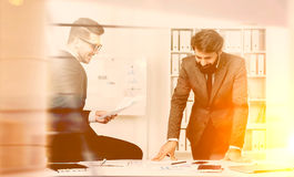 Businesspeople teamwork Stock Images