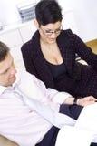 businesspeople teamworking Στοκ Εικόνες