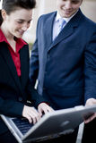 Businesspeople technology Stock Photography