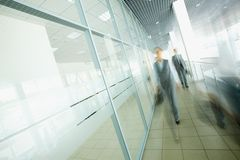 Businesspeople walking Stock Images