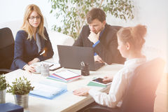 Businesspeople at work Royalty Free Stock Photography