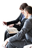 Businesspeople Working Stock Image