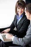 Businesspeople Working Stock Photo