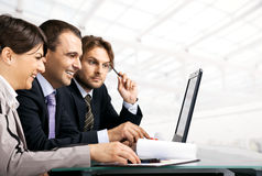 Businesspeople working Royalty Free Stock Image