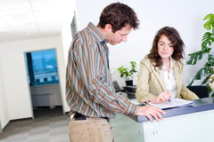 Free Businesspeople Working Stock Photos - 7706583