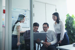 Businesspeople Working Together Royalty Free Stock Image
