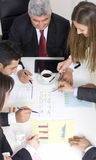 Businesspeople working together at Royalty Free Stock Photos