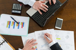 Businesspeople working together Stock Photos
