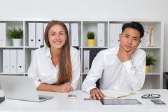 Businesspeople working together Stock Photography