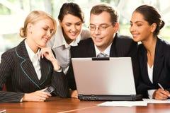 businesspeoplegrupp Arkivfoto