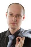 businessperson απομονωμένος πέρα από τ&omicron Στοκ εικόνες με δικαίωμα ελεύθερης χρήσης