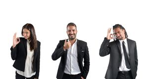 Businessperson agree Stock Photography