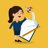 businessperson avatar  design Stock Images