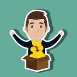 Businessperson avatar  design Stock Photography