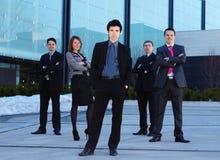 businesspersons одевают 5 официально Стоковые Фото