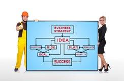 businessplan Royalty-vrije Stock Fotografie