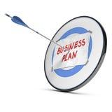 Businessplan - Doelstellingen Concept stock illustratie