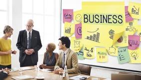Businessplan Marketing het Succesconcept van de Strategiegroei Royalty-vrije Stock Afbeeldingen
