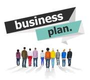Businessplan van de de Vergaderingsconferentie van de Planningsstrategie het Seminarie Conce Royalty-vrije Stock Fotografie