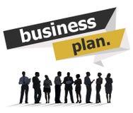 Businessplan van de de Vergaderingsconferentie van de Planningsstrategie het Seminarie Conce royalty-vrije stock foto