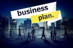 Businessplan van de de Vergaderingsconferentie van de Planningsstrategie het Seminarie Conce Royalty-vrije Stock Afbeelding