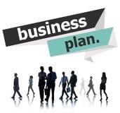 Businessplan van de de Vergaderingsconferentie van de Planningsstrategie het Seminarie Conce Stock Foto