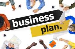 Businessplan van de de Vergaderingsconferentie van de Planningsstrategie het Seminarie Conce Stock Foto's