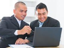 Businessteam论述 免版税库存图片