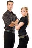 businessteam royaltyfria foton