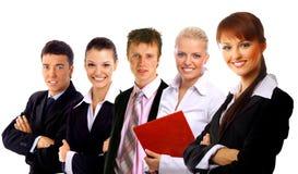 Businessteam acertado Fotos de archivo
