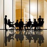 Businessteam bei der Arbeit Lizenzfreies Stockfoto
