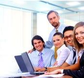 Businessteam dans l'offece Images libres de droits