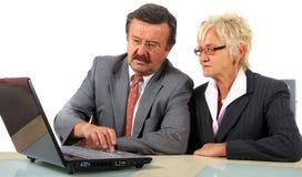 Businessteam In Mature Age Stock Photo