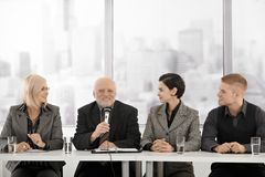 Businessteam on meeting Royalty Free Stock Photos