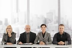 Businessteam at meeting Stock Images
