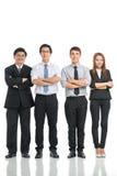 Zeker commercieel team Royalty-vrije Stock Fotografie