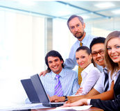 Businessteam in offece Royalty Free Stock Images